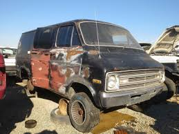dodge van junkyard find 1976 dodge tradesman van the truth about cars