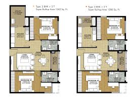 salarpuria sattva necklace pride floor plans for 2 3 4 bedroom