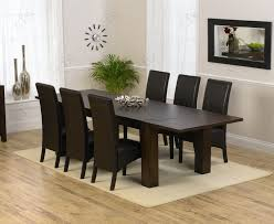 Dining Table  Chairs Dining Room Table Set For  All - Black dining table for 10