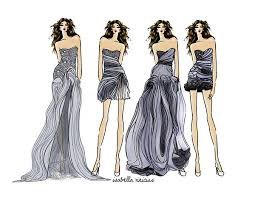 gallery how to sketch dress designs drawing art gallery
