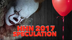 halloween horror nights schedule hhn 2017 it maze possible youtube