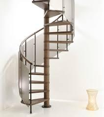 spiral staircase wooden steps steel frame wooden frame