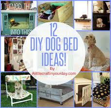 Diy Project Ideas 12 Diy Dog Bed Project Ideas Diy Craft Projects