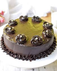 Best Chocolate Cake Decoration Ever Eggless Chocolate Cake Chocolate Truffle Cake