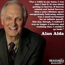 Alan Meme - alan alda meme reason revolution