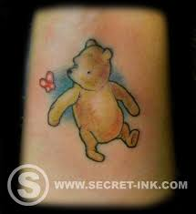 winnie the pooh tattoo pooh bear tattoo secret ink truro cornwall justin best tattooist cornwall best tattoo studio cornwall disney tattoo tattoo studio