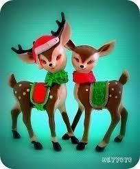 Vintage Christmas Cake Decorations Reindeer 194 best vintage christmas reindeer images on pinterest vintage