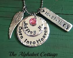 remembrance jewelry baby infant loss jewelry etsy