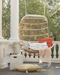 Swing Chairs For Rooms Double Hanging Rattan Chair Chairs Serena And Lily