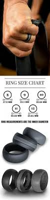 mens wedding ring sizes silver silicone wedding ring designed by knot theory soft and