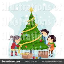christmas tree clipart 1086925 illustration by bnp design studio