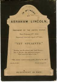 Burial Invitation Card Browse Responses Remembering Lincoln