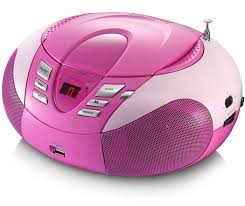cd player für kinderzimmer neu portabler cd player mit radio tuner mp3 display usb slot