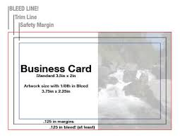 Business Card With Bleed Bleeds Explained U2013 Make It Bleeeed As Designers And Printers