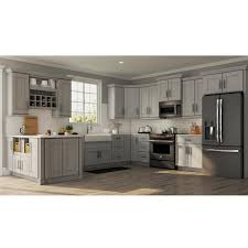 kitchen cabinets lowes or home depot hton bay shaker assembled 36x30x12 in wall kitchen