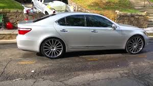 lexus ls 460 review 2007 lexus ls 460 on 22 inch rims no offset youtube