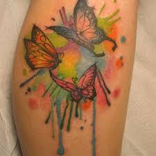 best 25 butterfly leg tattoos ideas on