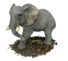 large elephant resin garden ornament 56 99 garden4less uk shop
