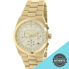 gold tone stainless steel bracelet images Michael kors ladies gold tone stainless steel bracelet watch jpg
