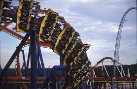 Six Flags Illinois Six Flags Great Adventure Top 8 Coasters Playbuzz