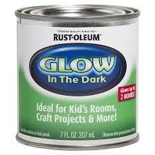 shop rust oleum luminous green satin glow in the dark water based