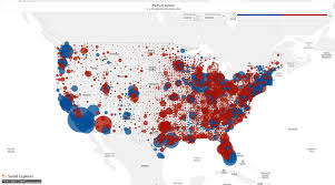 Map Election by Nucleus Learning Network Data Vis Series Exploring The Election