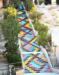 exterior creative stairs street art ideas creative outdoor steps