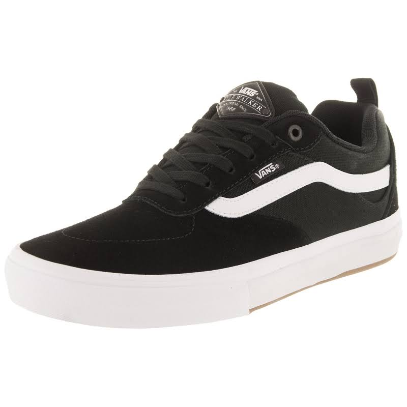 Vans Kyle Walker Pro (Black/White) Skate Shoes-8