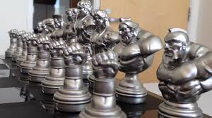 Cool Chess Boards by Street Fighter 25th Anniversary Chess Set Unboxing Youtube