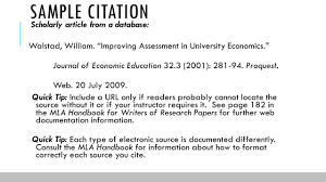 how to write a research paper in mla format documentation in mla format ppt download 9 sample