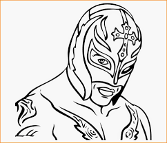 wwe coloring pages lucha dragons 972x834 jpg