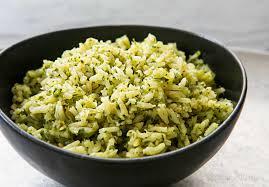 green rice recipe arroz verde simplyrecipes com