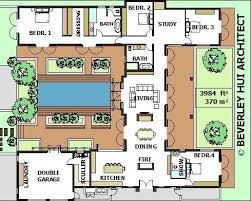 center courtyard house plans projects ideas 1 house plans with courtyard center home act