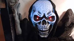 17 foot grim reaper halloween decoration youtube