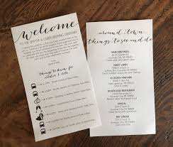 wedding hotel welcome bags welcome bag letters erickson design