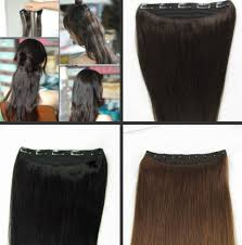 cheap clip in hair extensions 20 one 100g clip in human hair