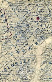 Stanford Maps Parish Map Of London 1877 By Edward Stanford