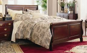 Solid Wood Sleigh Bed Amazing Wooden Sleigh Bed With Solid Wood Sleigh Beds Handmade To