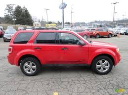 Ford Escape All Wheel Drive - torch red 2009 ford escape xlt 4wd exterior photo 60926513