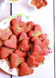 red velvet cookies recipe with beet juice and wheat flour