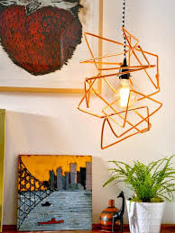 Diy Pendant Light Fixture Brighten Up With These Diy Home Lighting Ideas Hgtv U0027s Decorating