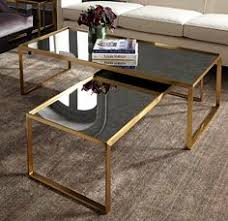 mitchell gold coffee table not quite this but custom version of it with shelf below hudson