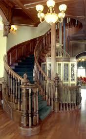 stair astonishing home interior stair design using oak wood