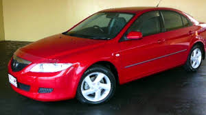 classic mazda 2003 mazda 6 gg classic red 4 speed auto activematic hatchback