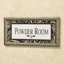 Ladies Powder Room Wall Plaques Touch Of Class