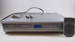 trutech space saving under cabinet kitchen cd radio k003188 remote trutech space saving under cabinet kitchen cd radio k003188 remote w battery