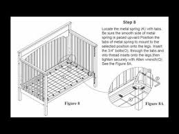 Graco Freeport 4 In 1 Convertible Crib Graco Crib Assembly
