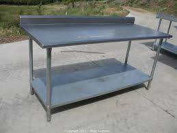 outdoor cooking prep table restaurant stainless steel kitchen work prep table nsf kitchen