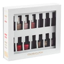 color clutch nail polish holder the container store