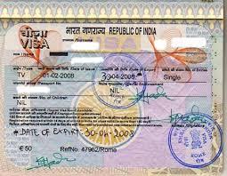 consolato india il visto